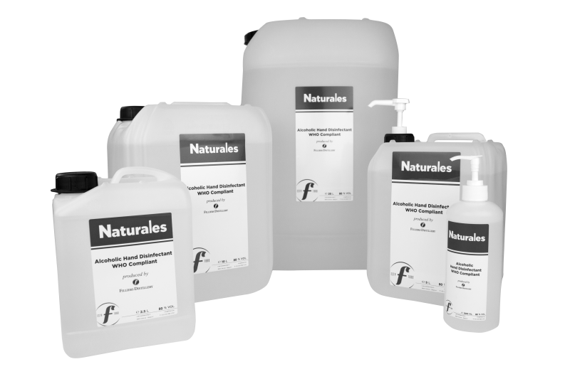 NATURALES HAND DISINFECTANT 80%